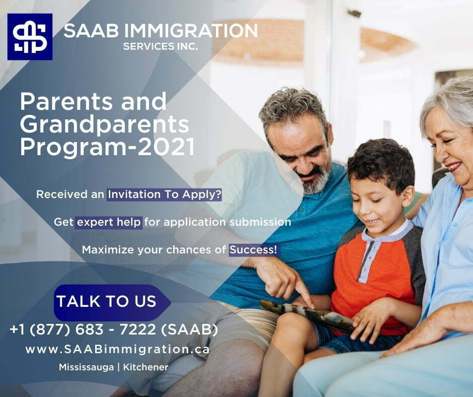 Saab Immigration Parents & Grandparents Sponsorship Program